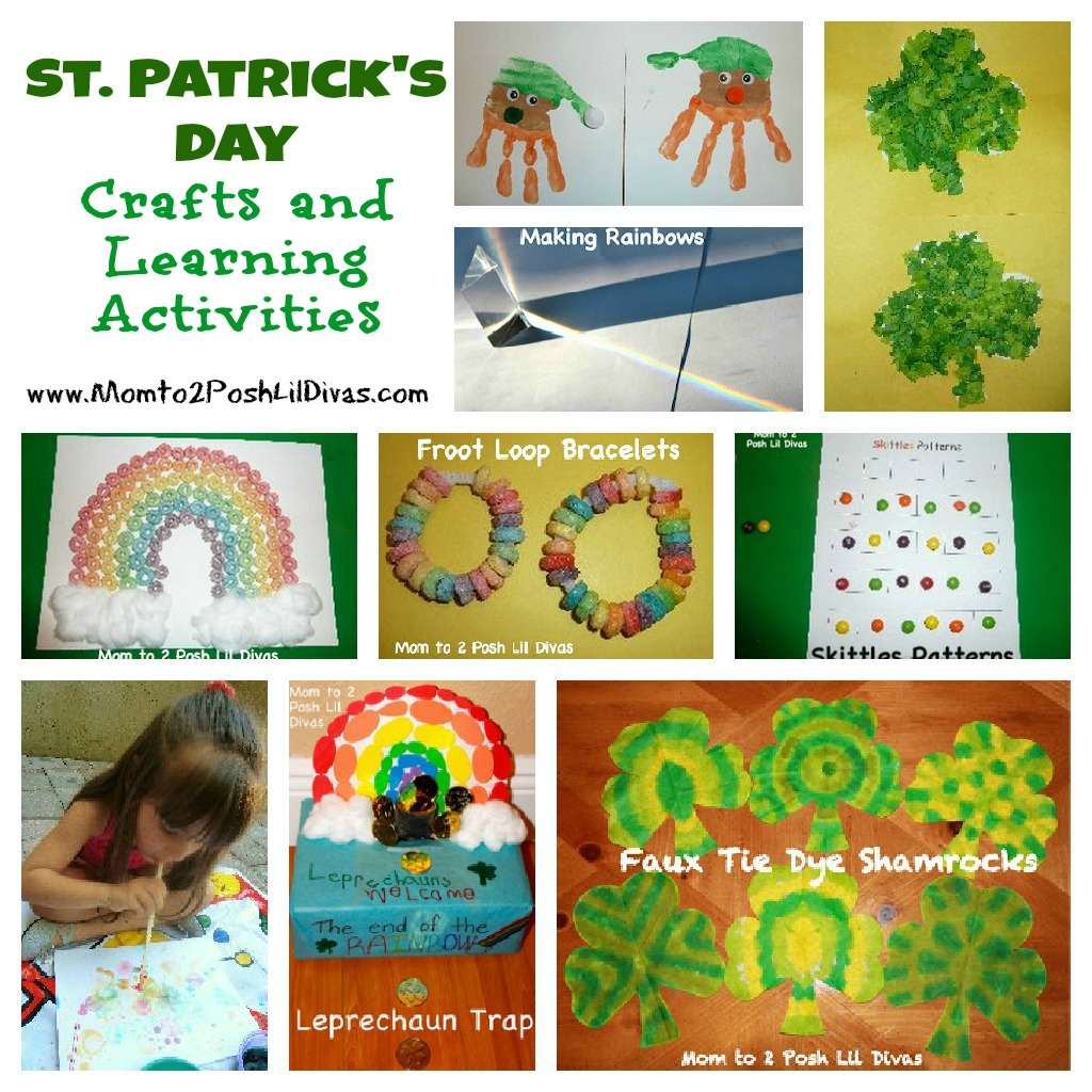 15 St. Patrick's Day And Rainbow Crafts For Kids