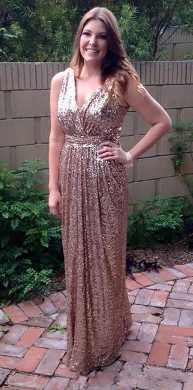 Vf452 shimmering rose gold bridesmaid dresses prom fashion trend vf452 shimmering rose gold bridesmaid dresses ombrellifo Images