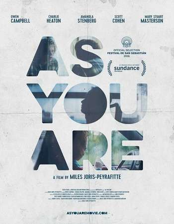 As You Are 2016 Full English Movie Download