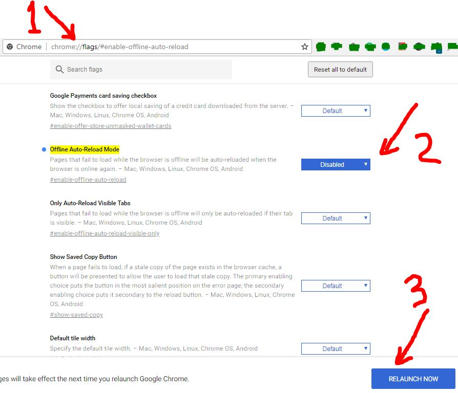 Concept Sharing: How to stop google chrome tabs auto reload?
