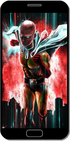 One Punch Man Super Attaque - Fond d'Écran en QHD pour Mobile