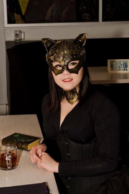 Steampunk Cat Mask Tutorial