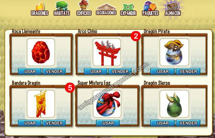 Dragon City Food
