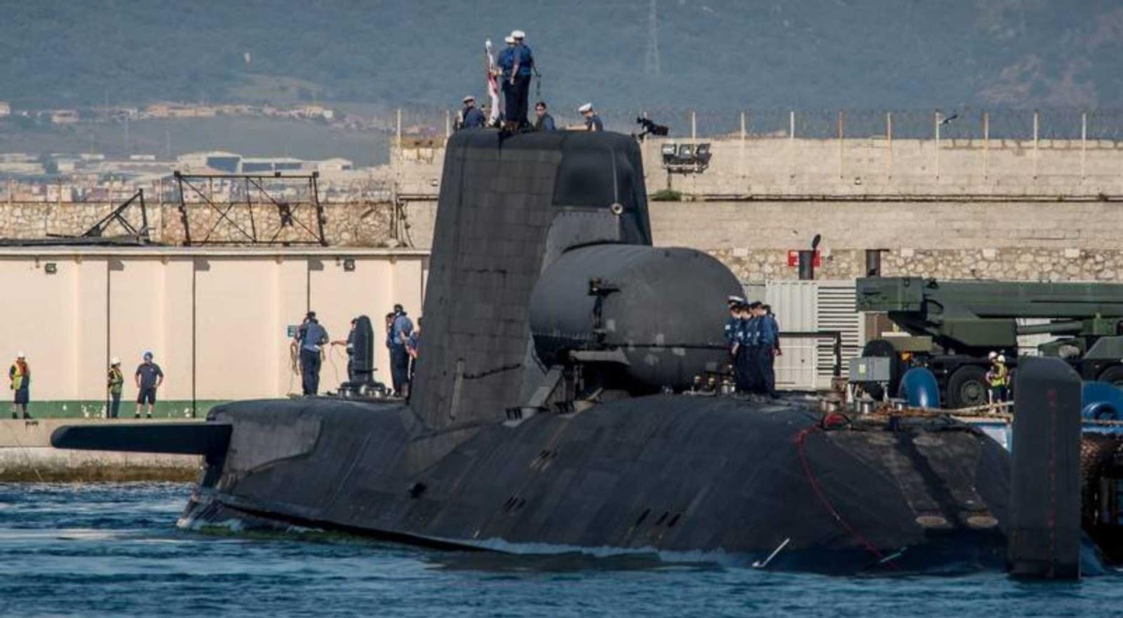 Kapal selam Inggris tidak mampu melakukan misi tempur