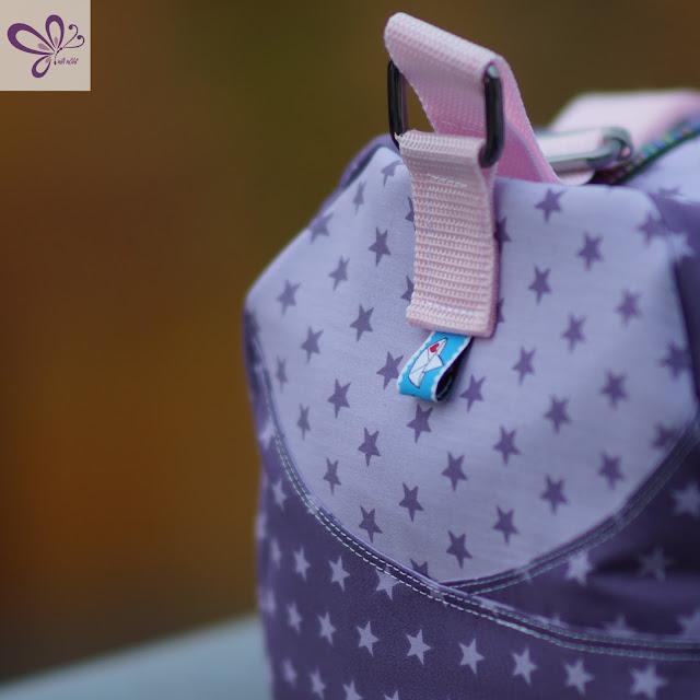 Kindersporttasche Yari von Frau Scheiner, Sternenliebe, Webband Cherry Picking Loveboat