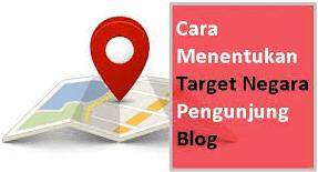 Gambar ilustrasi target negara pengunjung blog