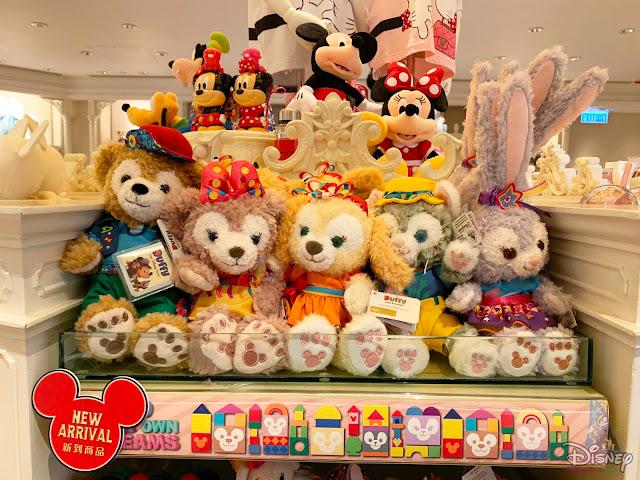 香港迪士尼樂園度假區 Duffy與好友「Build Your Own Dreams」系列商品 陸續上架, Disney, Hong Kong Disneyland, HKDL, HK Disneyland, Diffy, ShellieMay, Gelaoni, StellaLou, CookieAnn, 奇妙夢想城堡, Castle of Magical Dreams