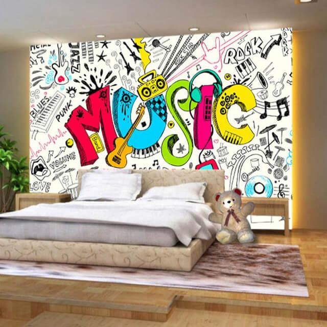 tranh tường phòng ngủ đẹp bình dương