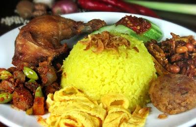 Resep Membuat Nasi Kuning Gurih Dan Lezat