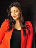 Kajal Agarwal In Red-cover-photo