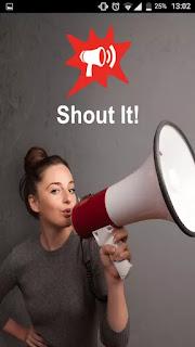 shout it
