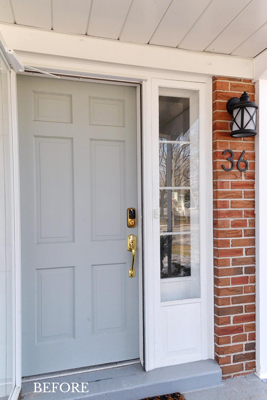 A Smart Door Lock And Front Door Refresh Rambling Renovators