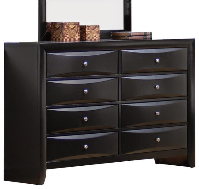 the fabulous modern black dressers chests and bedroom sets