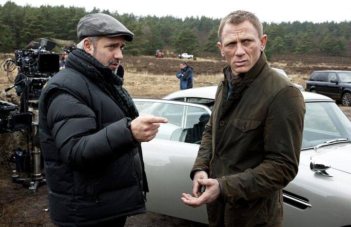"""Сэм Мендес, Дэниел Крэйг, Том Хиддлстон, агент 007, 007, Джеймс Бонд, """"007: Координаты """"Скайфолл"""""""", """"007: Спектр"""", Skyfall, Spectre"""