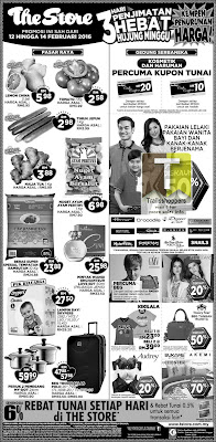 The Store hypermarket sale offer