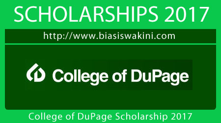 College of DuPage Scholarship 2017