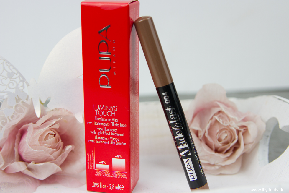 Pupa Milano - Luminys Touch und Eyeshadow made to Last