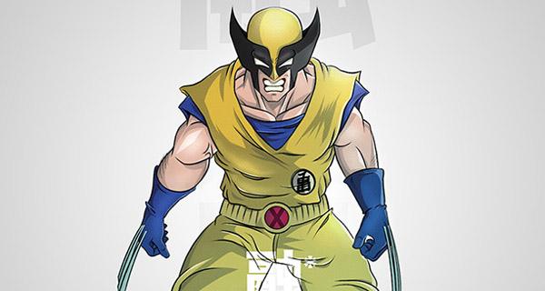 Fusión Goku / Lobezno