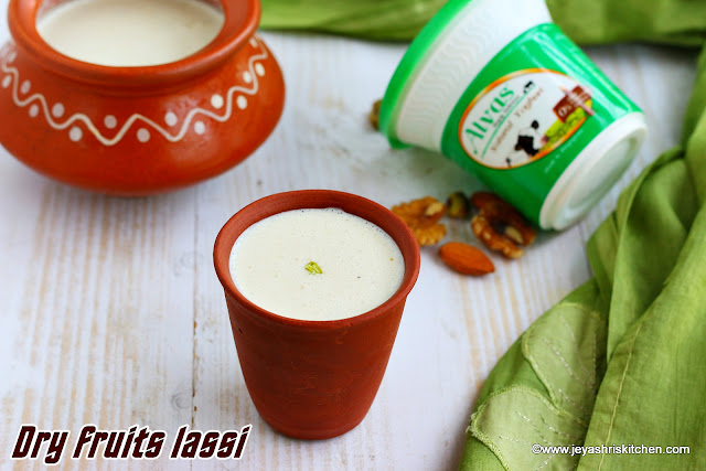 Dry fruits lassi