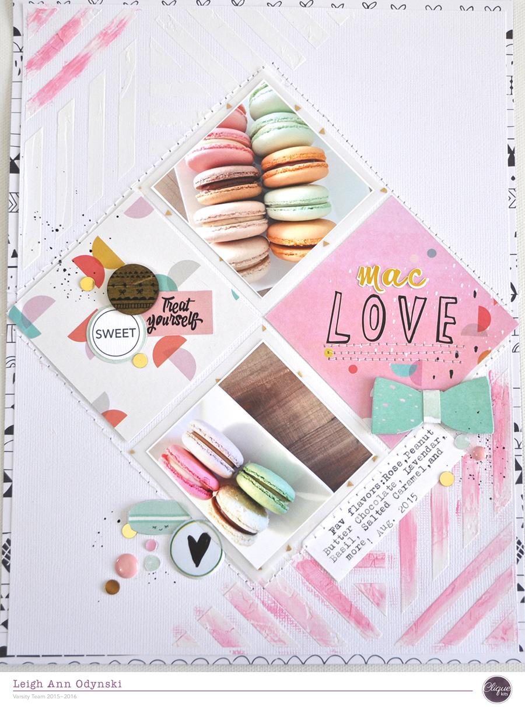ARTFUL LEIGH: Clique Kits Art Studio Mac Love Layout