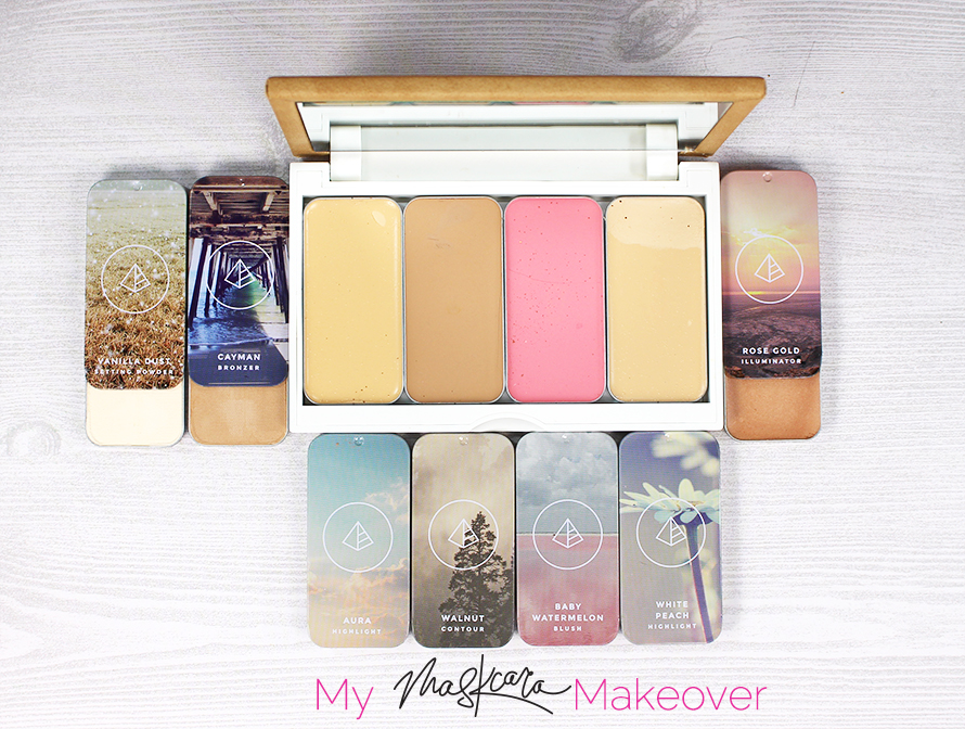 Highlight and contour with Maskcara and Gouldylox
