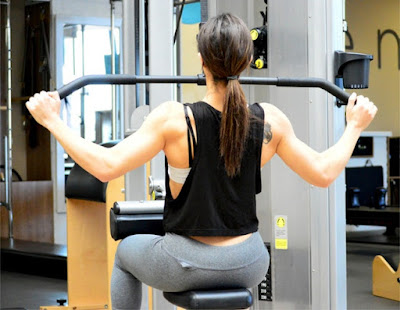 Best Back Workout For Women's-Pull own