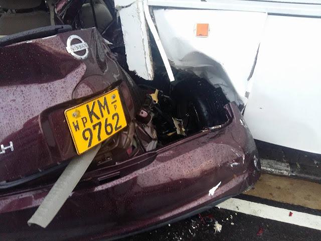 Kavisha Ayeshani Premaratne accident photos