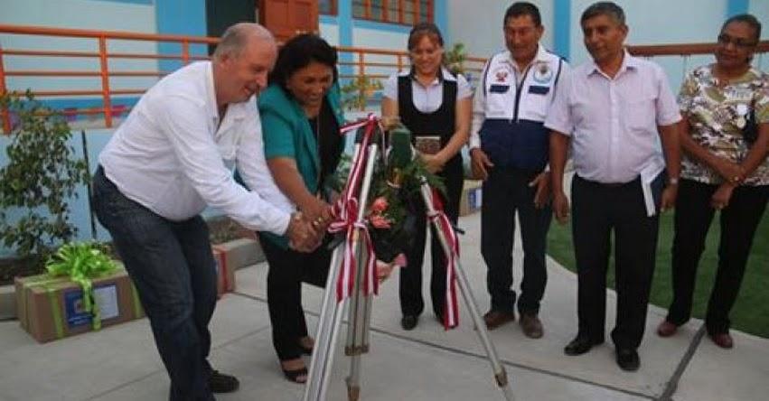 Inauguran Institución Educativa N° 196 en Pisco - DRE Ica