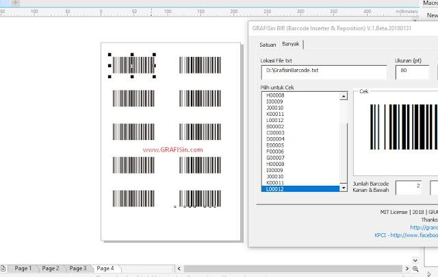 GRAFISin BarcodeIR Version 1 - Free