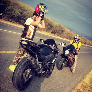 Fire Motorcycle Helmet Warhawks