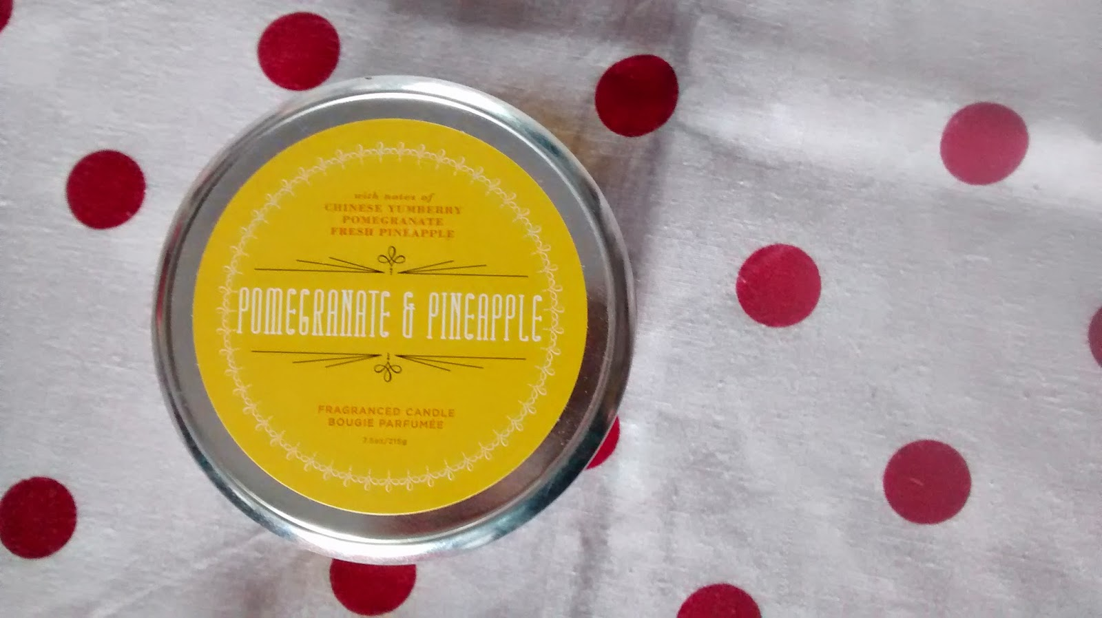 Pomegranate and Pineapple Candle