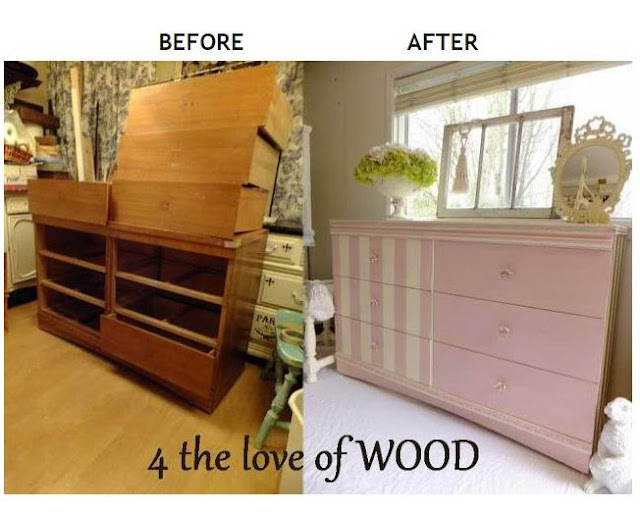 4 the love of wood: BEFORE/AFTER