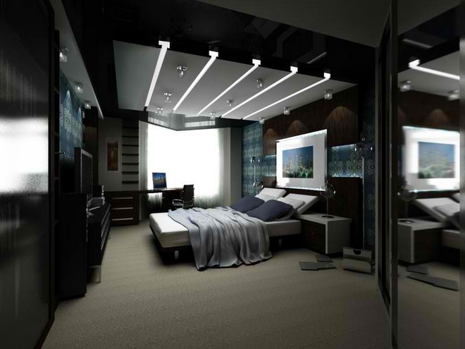Simple Black And White Bedroom Ideas For Modern House