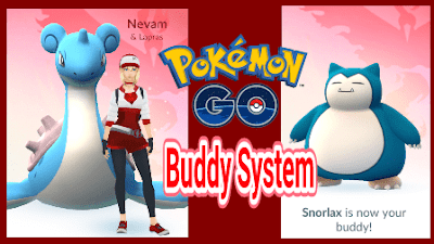 Cara Kerja Pokemon Buddy System di Pokemon Go