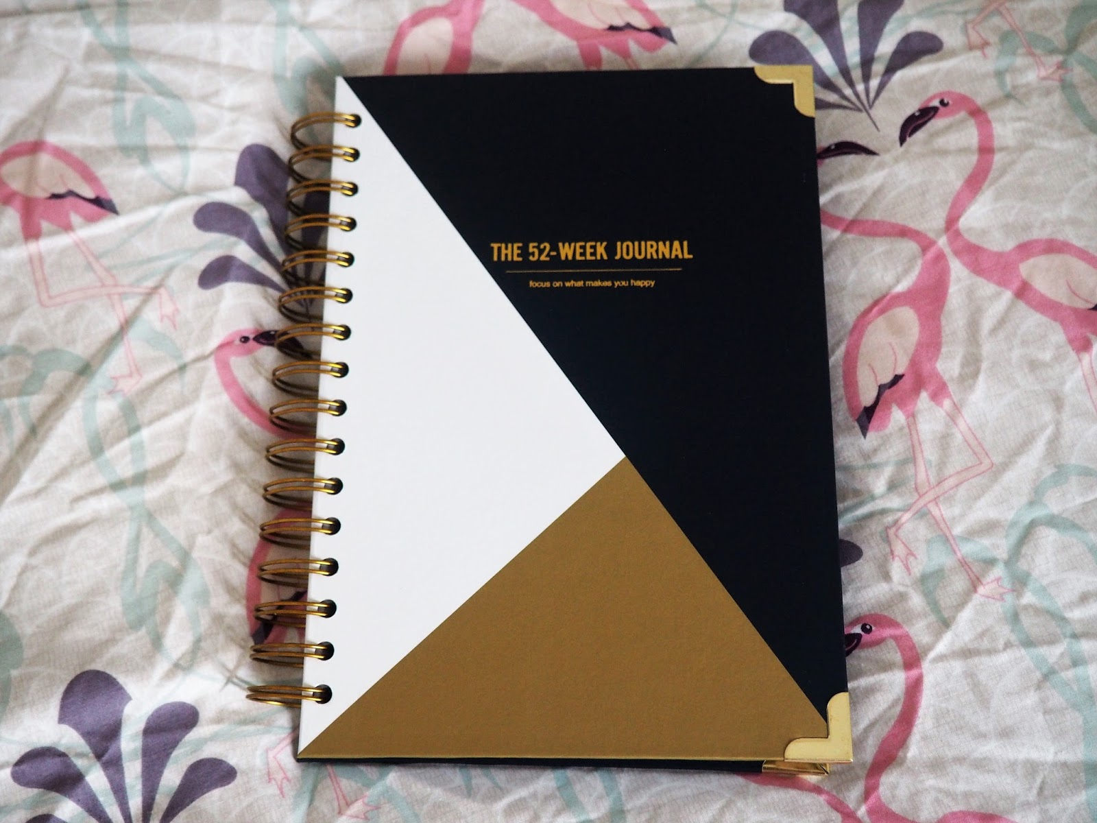 Navy 52 Week Journal, by Happiness Planner