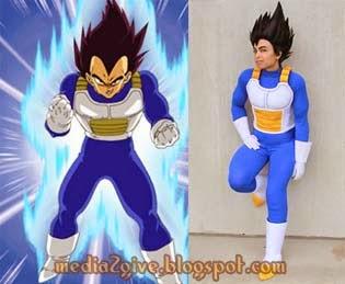 Cosplay Anime Dragon Ball Paling Mirip