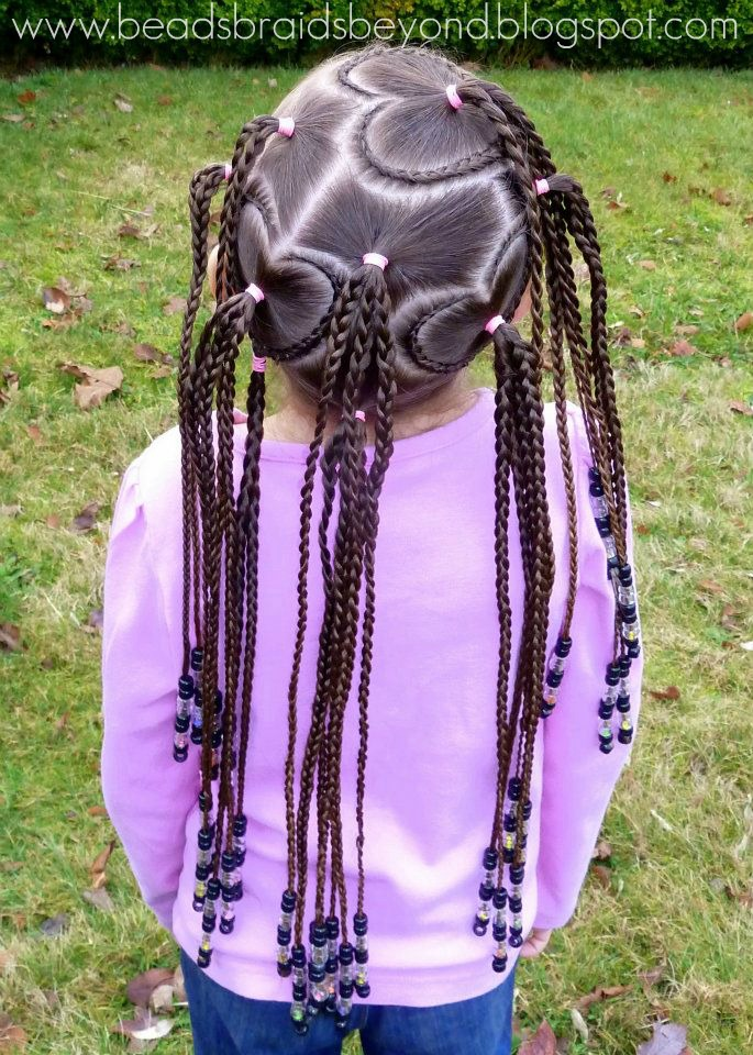 Beads Braids And Beyond Valentine S Day Hair Lots Of