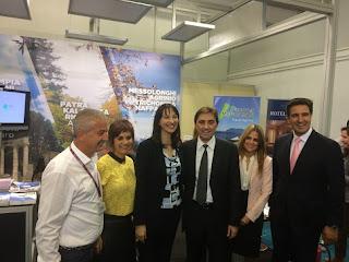 παρουσία της Περιφέρειας Δυτικής Ελλάδας στην 32η Διεθνή Έκθεση Τουρισμού «Philoxenia 2016»