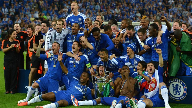 From Where I am.........Kuala Lumpur: Chelsea FC are the new Champions ...