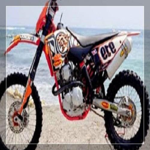 25 Foto gambar modifikasi motor bebek jadi trail serta ...