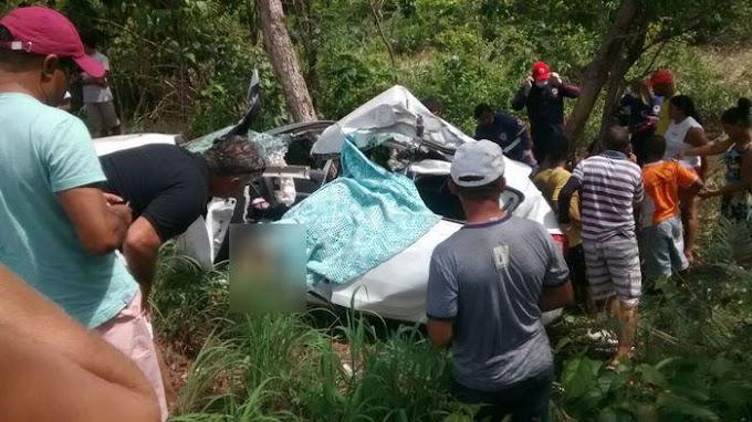 BR 316 - Acidente deixa um morto e três gravemente feridos entre Timon e Caxias