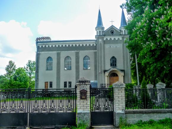 Долина. Бывшая синагога. Памятник архитектуры. Молитвенный дом