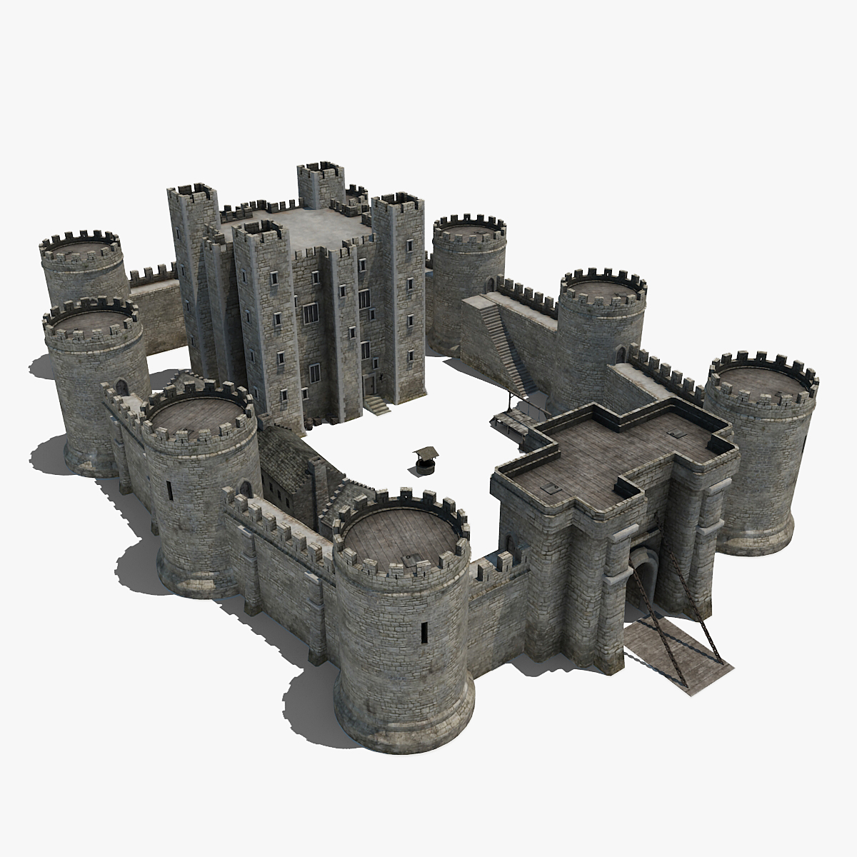 Castle Diagram With Labels Kenworth Pigtail Wiring Stone Keep Barbican