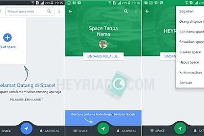 Cara Menciptakan Grup Chat Di Aplikasi Spaces Google