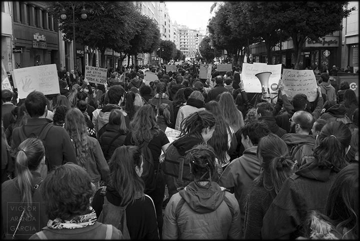 fotografia,valencia,manifestacion