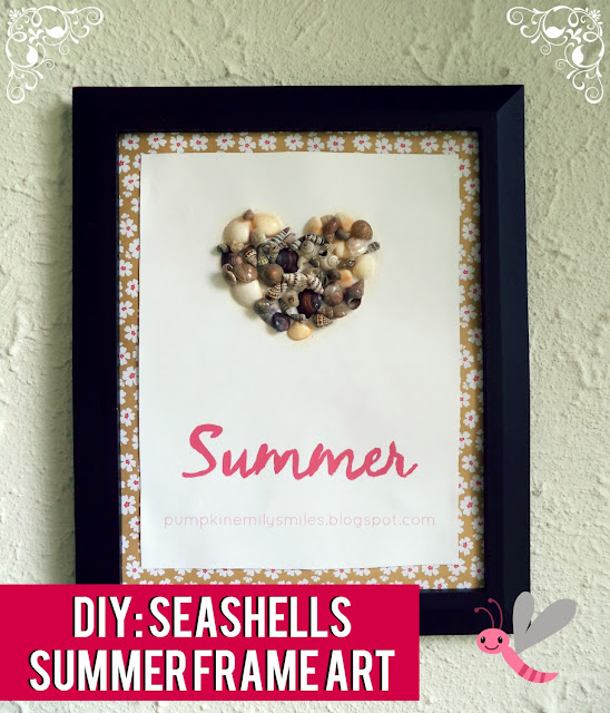 DIY: Seashells Summer Frame Art