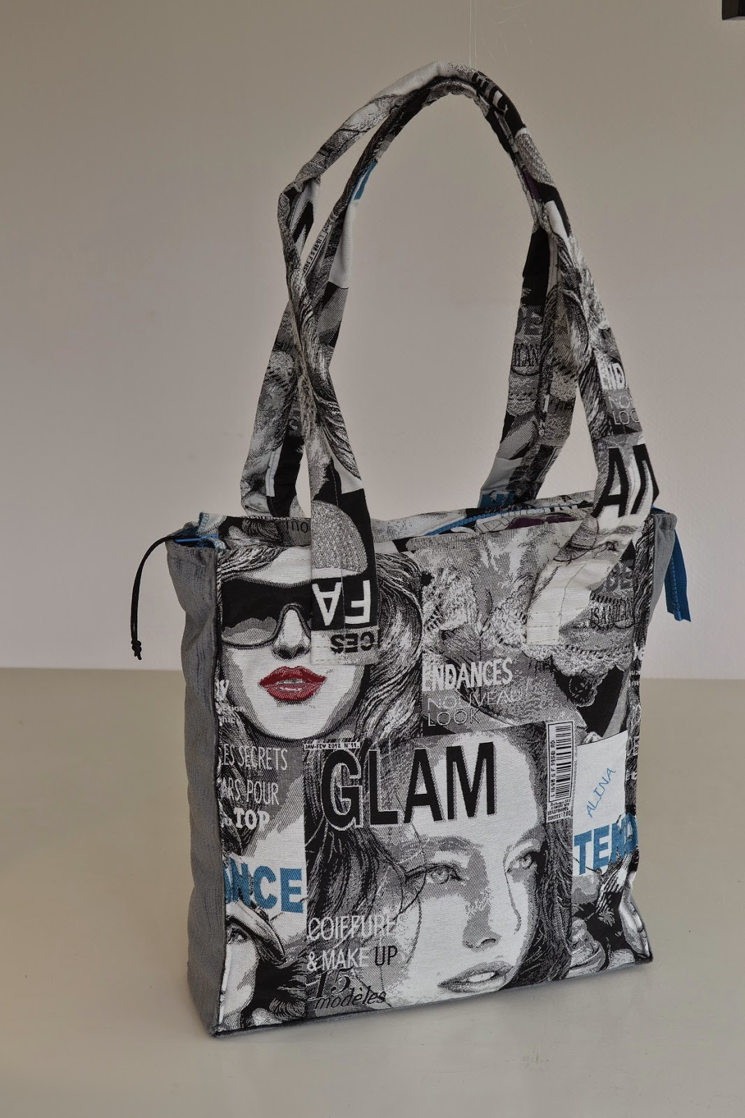 Bolsas-Tassen, unieke handgemaakte tassen, shopper, Alina