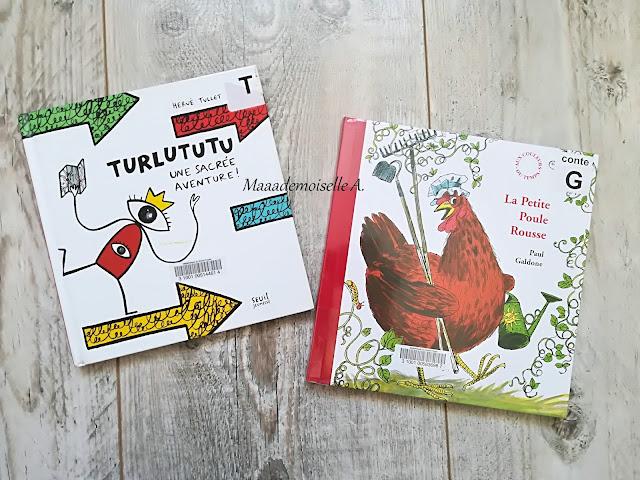 > Turlututu, une sacrée aventure  > La petite poule rousse