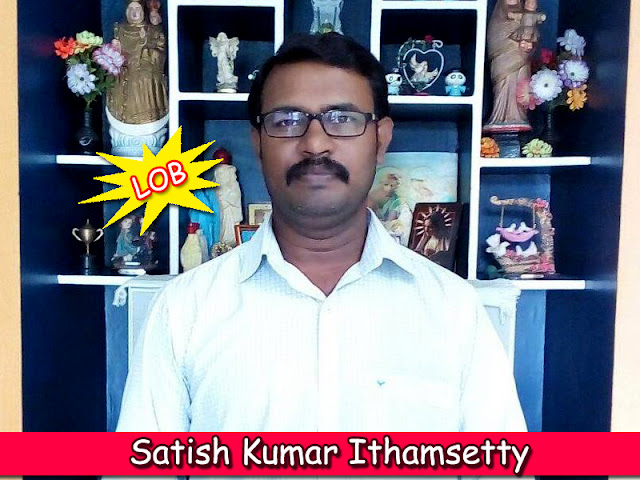 Satish Kumar Ithamsetty from Blogging Den