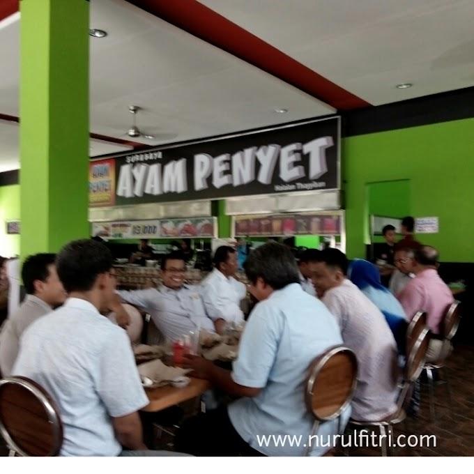 Ayam Penyet Surabaya yang Halalan Toyiban